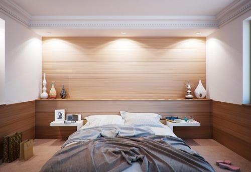 Contoh desain kamar tidur minimalis dan praktis