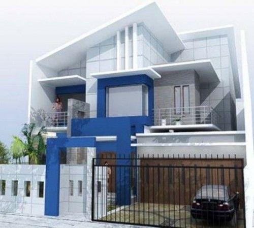 Model rumah minimalis bertema laut