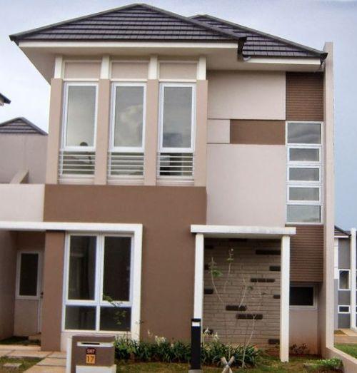 Rumah minimalis 2 lantai dirancang dengan sirkulasi udara dan cahaya maksimum