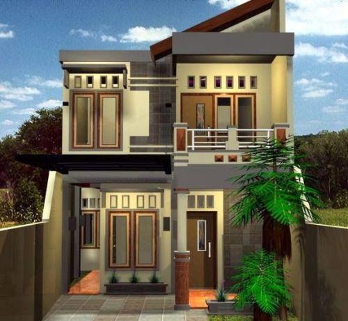 Rumah minimalis modern 2 lantai dengan desain elegan