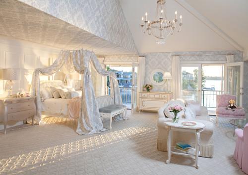 Gambar Kamar Tidur Anak Perempuan Klasik dengan Tema Princess