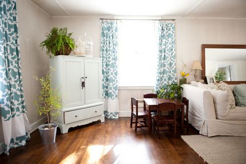 Gorden rumah minimalis bermotif