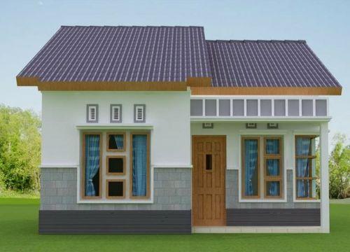 Rumah type 36 dengan potensi pengembangan
