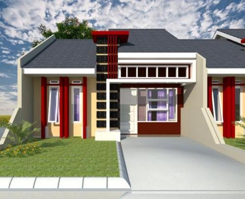 Contoh Desain rumah minimalis sederhana type 45
