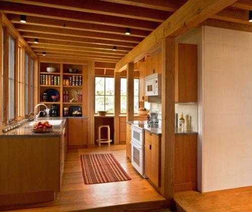 Konsep rumah kayu minimalis bernuansa modern for Simple modern wood house