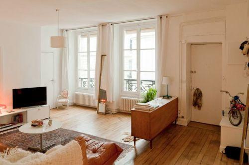 Contoh interior rumah type 45 dengan furniture minimalis