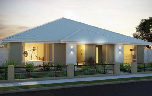 Contoh rumah minimalis 1 lantai terbaru