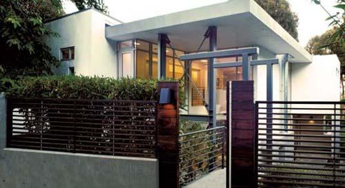 Contoh rumah minimalis sederhana dengan atap datar