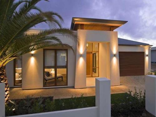 Contoh rumah minimalis terbaru 1 lantai