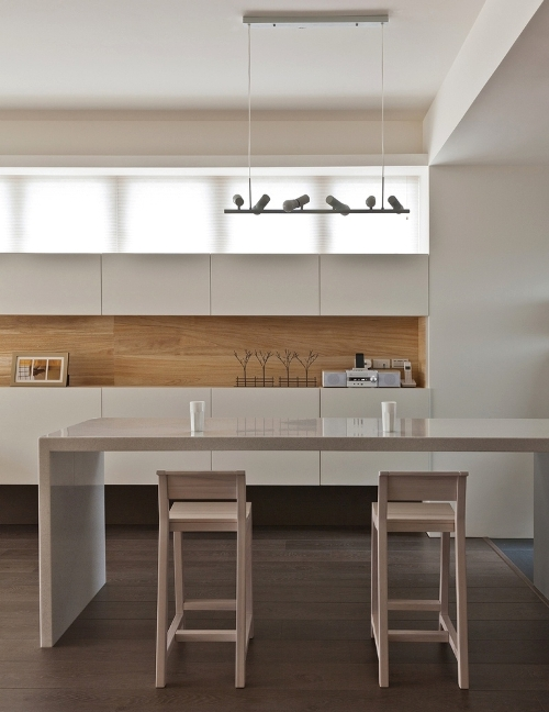 Dapur minimalis modern dengan interior simple