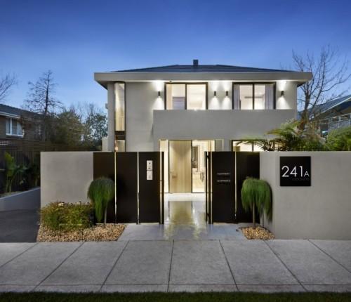 Denah Rumah Minimalis 2 Lantai modern type 100