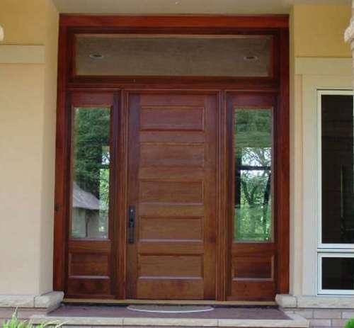 Gambar kusen dan pintu minimalis kayu untuk rumah vintage