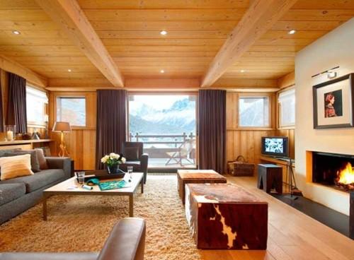interior rumah kayu minimalis
