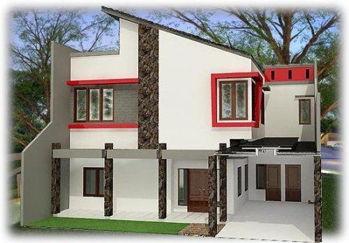Model Rumah Minimalis 2015 Bernuansa Modern