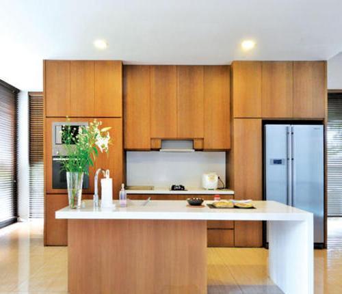 Model dapur kecil untuk rumah kecil