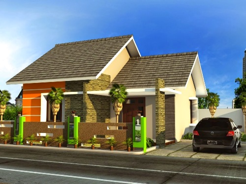 Model rumah minimalis type 54