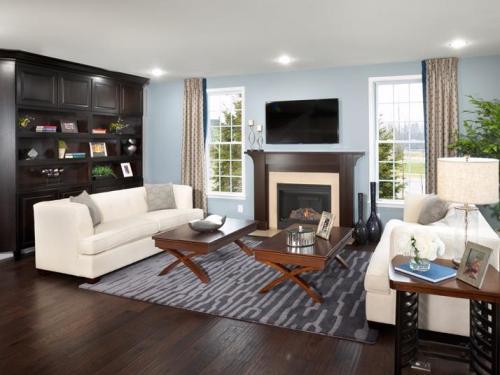 Ruang keluarga rumah type 60 bisa dibuat lebih luas