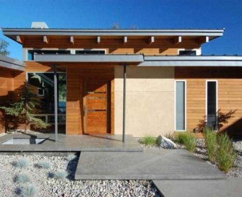 Rumah Kayu Minimalis Modern
