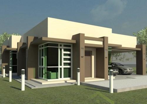 Rumah minimalis 1 lantai, tampak simple namun elegan
