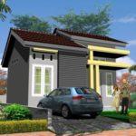 Sketsa Rumah Minimalis Type 36 Dengan Desain Tropis