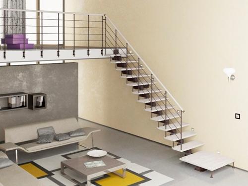 Tangga minimalis modern untuk menghemat ruang