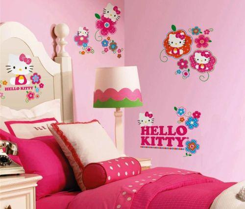 warna cat kamar tidur anak perempuan dengan dominasi pink