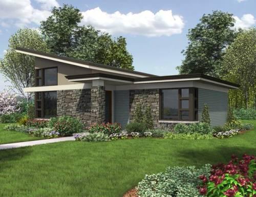 arsitek rumah minimalis modern 1 lantai