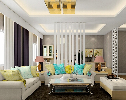 dekorasi rumah minimalis bernuansa ceria