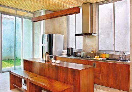 desain dapur untuk rumah minimalis dengan cahaya alami
