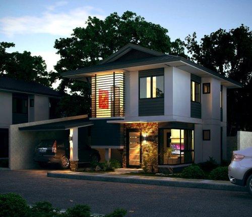 Desain Rumah iMinimalisi Type 120 Pada Lahan Yang Luas