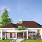 Desain Rumah Minimalis Type 120 Pada Lahan Yang Luas