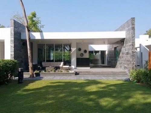 desain rumah minimalis type 60 kontemporer 1 lantai