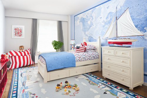 kamar tidur anak bertema Disney