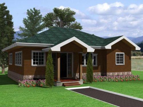 profil rumah minimalis dengan konsep bungalow