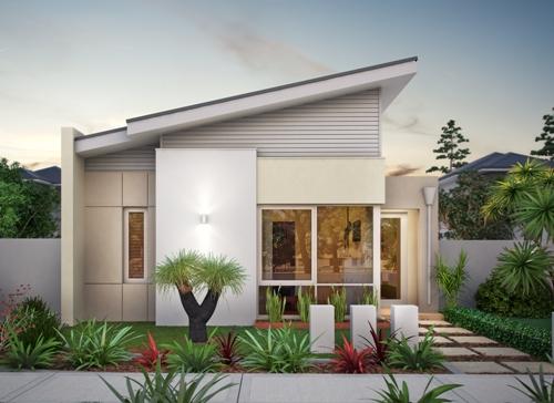 rumah cantik minimalis 1 lantai bernuansa kontemporer