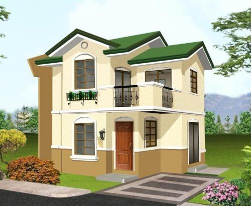 rumah cantik minimalis 2 lantai