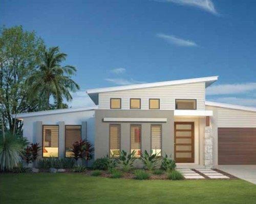 warna warni cat untuk desain rumah sederhana 2 lantai
