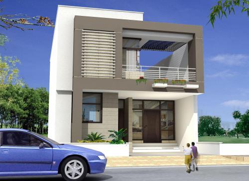 Contoh Model rumah tingkat minimalis modern