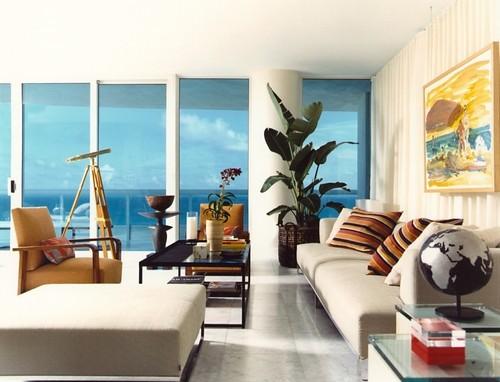 Contoh dekorasi ruang tamu minimalis