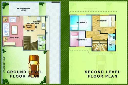 rumah minimalis 2 lantai type 36 berdesain unik