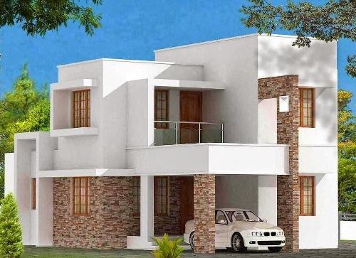 Contoh gambar 3 dimensi rumah minimalis 2 lantai