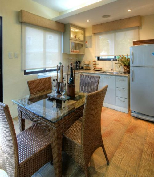 Contoh interior dapur rumah minimalis type 36 2 lantai]