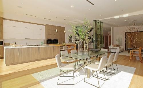 Contoh interior rumah mewah 2 lantai