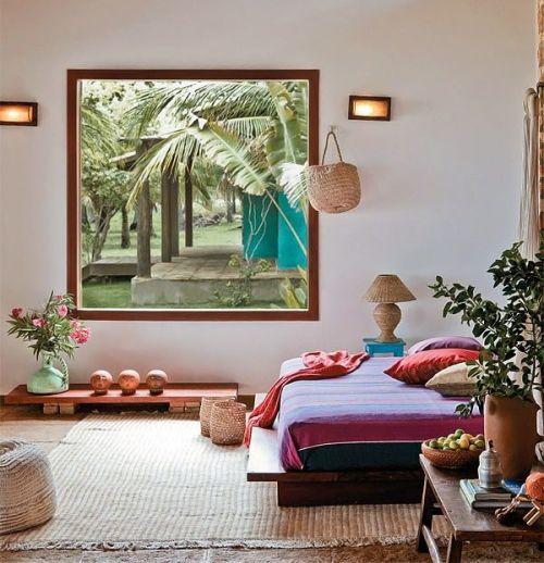 Contoh kamar tidur di rumah tipe bungalow