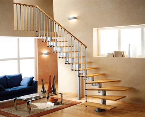 Contoh tangga rumah minimalis modern