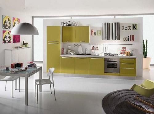 Dapur minimalis modern dengan nuansa cozy