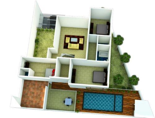 Denah rumah akan mempengaruhi biaya pembangunan
