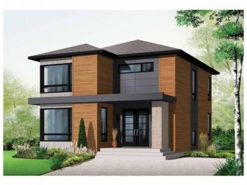 Desain Rumah Minimalis Modern Tropis