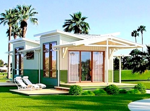 Desain Rumah Modern Minimalis 1 Lantai Tipe Bungalow