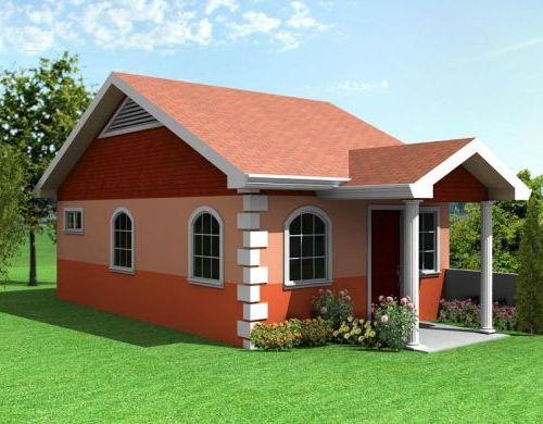 kesan lega pada desain rumah modern minimalis 1 lantai